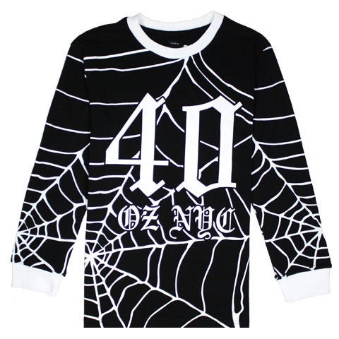 Image of 40 oz NYC - All Spider (Long Sleeve tee)