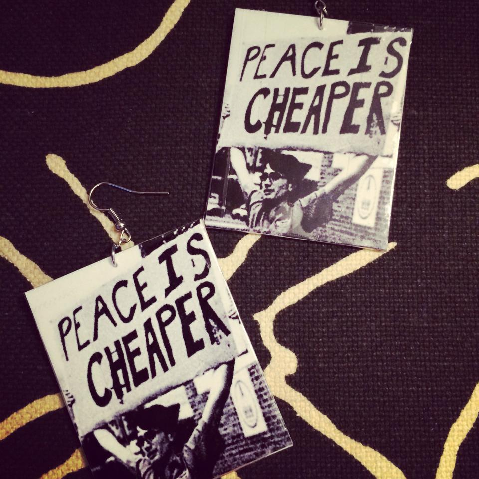 Image of PeaceIsCheaper