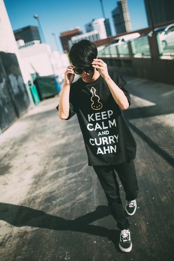 Image of Keep Calm and CurryAhn (Black)