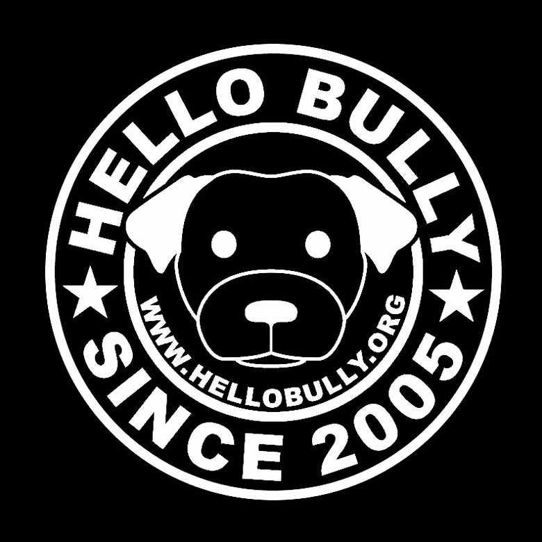 Image of Hello Bully Since 2005 Logo Tee - Black or White