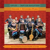 "Image of Zedashe ""Intangible Pearls"" CD (Ancient Polyphonic Songs from Republic of Georgia)"