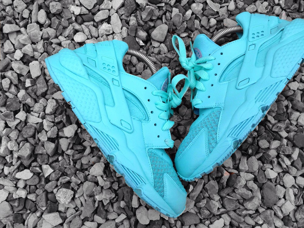 Big Blue Auto >> Tiffany Blue Nike Huarache / B M