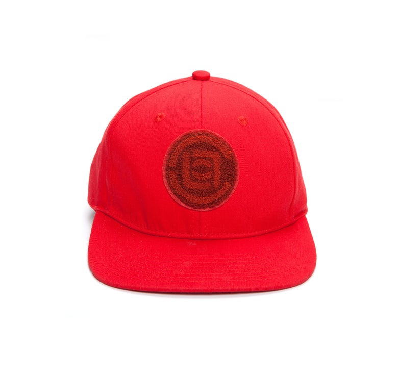 Image of CLOT - Patched Snapback (Red)