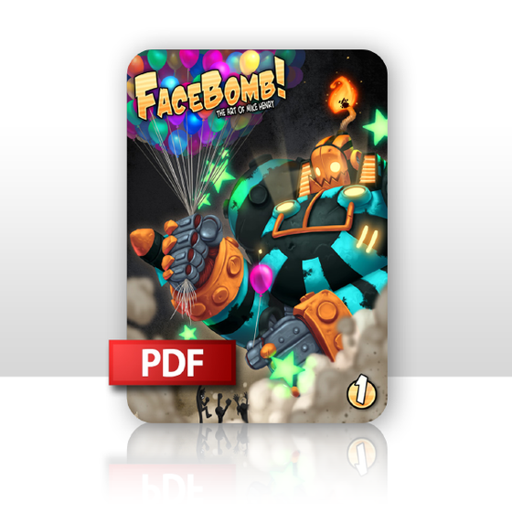 Image of FaceBomb 1: The Art of Mike Henry PDF