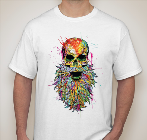 Image of CRUCIALFEST 4 FULL COLOR TEE