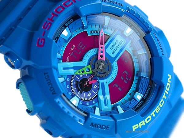 "Image of GA-110HC-2A ""Monster"" G-Shock"