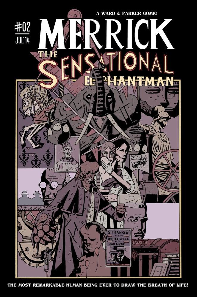 Image of Merrick: The Sensational Elephantman #02 (PHYSICAL)