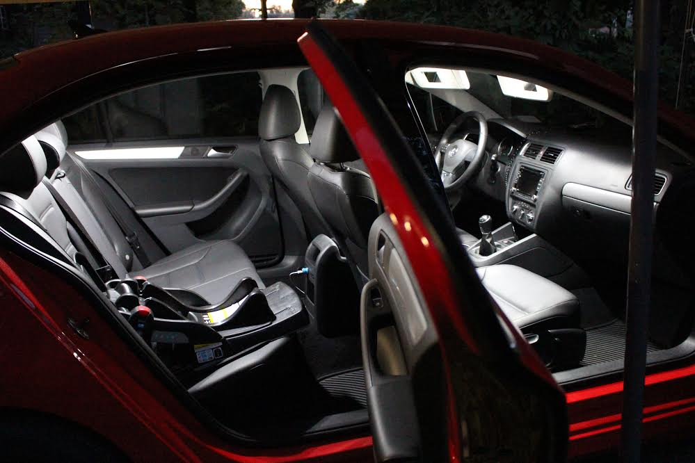 8pc complete interior led kit fits jetta gli 2012 deautokey. Black Bedroom Furniture Sets. Home Design Ideas