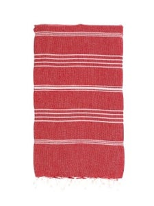 Image of Hammamas Turkish Towel (Raspberry)