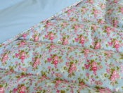 Image of Beatrice In Blue Piped Edge Eiderdown