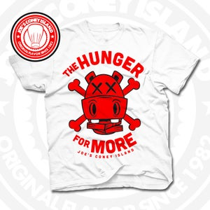 Image of Hunger for More White (Red) Tee