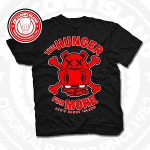 Image of Hunger for More Black (Red) Tee