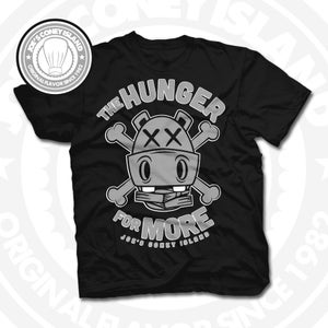 Image of Hunger for More Black (Sports Grey) Tee