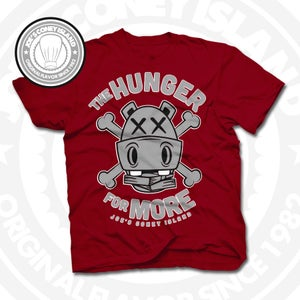 Image of Hunger for More Red (Sports Grey) Tee