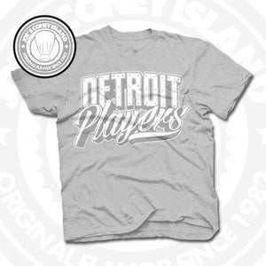 Image of Detroit Players Grey (Sports Grey/Wht) Tee