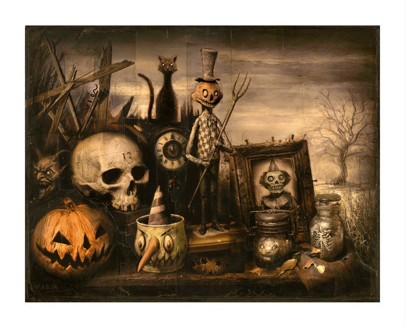 """Image of """"October Shadows"""" Limited Edition print"""