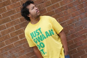 Image of JUST GWAAN DO IT T-Shirt - UNISEX  YELLOW