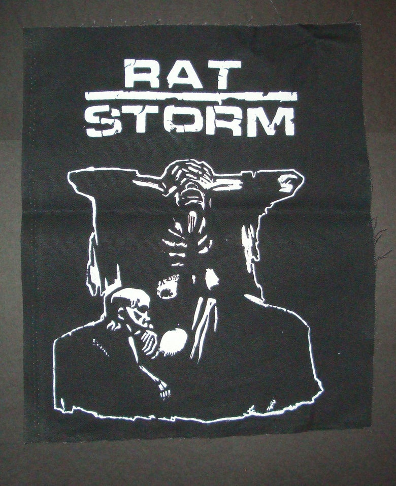 Image of Kathe Kolwitz Rat Storm Back Patch