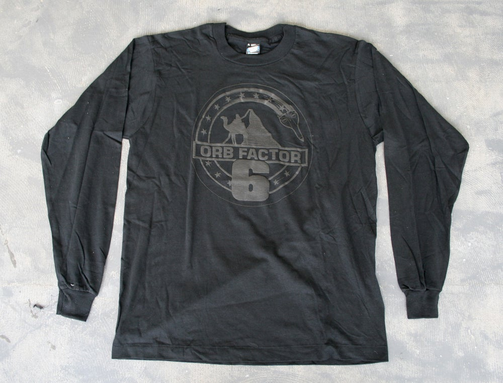 Image of The Orb 'Orb Factor 6' Long Sleeve T-Shirt