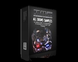 Image of All Drums Samples V2 [Includes 20 Snares, 16 Kicks & 13 set of toms]