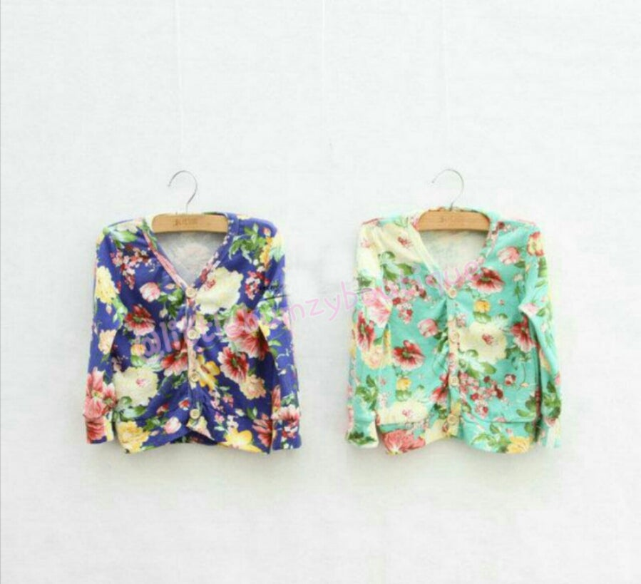 Image of Floral Cardigan