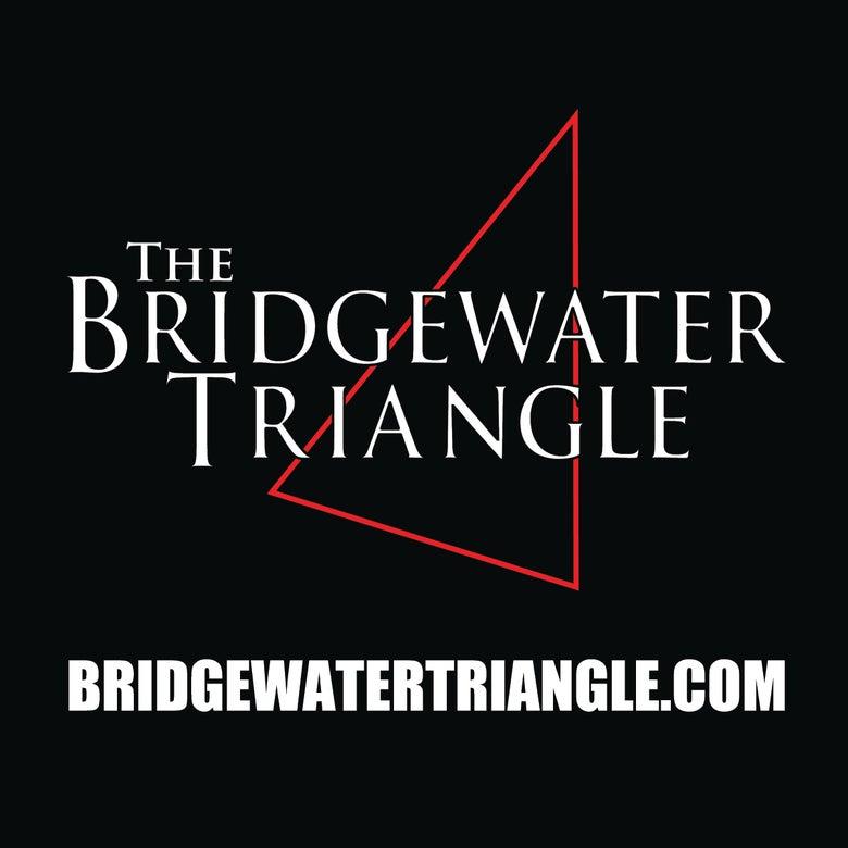 Image of The Bridgewater Triangle 4x4 Vinyl Sticker