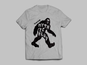 Image of MYTHICALUV Sasquatch Tee