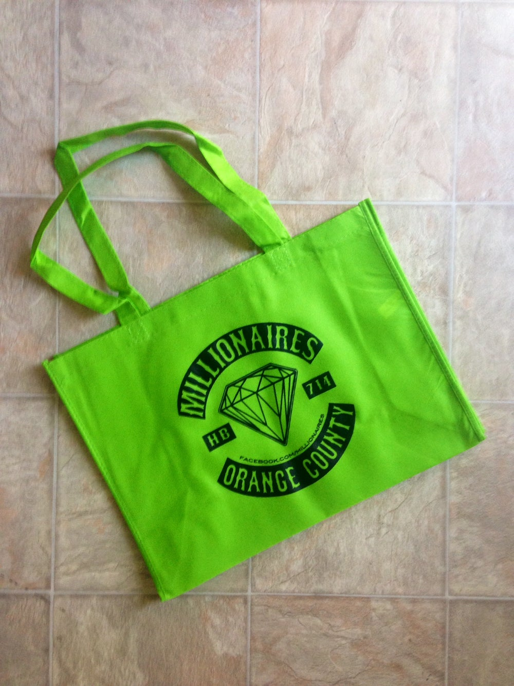 Image of Millionaires Lime Green OC Club Tote