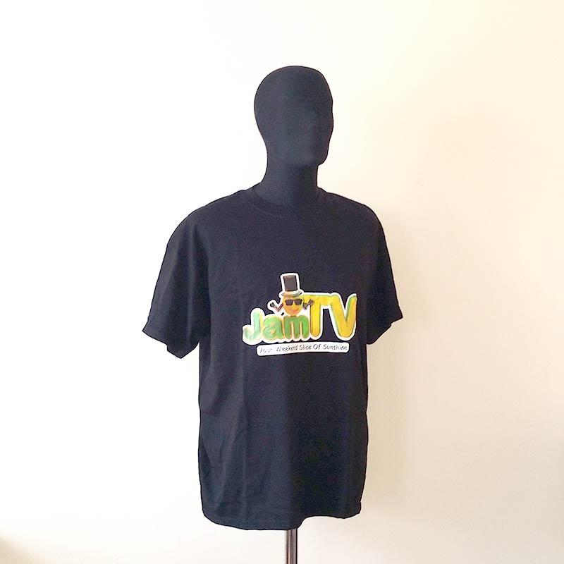 Image of Mens Black T-shirt