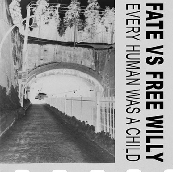 Image of Fate Vs Free Willy - Every Human Was A Child 7'' EP (If Society, Finland)