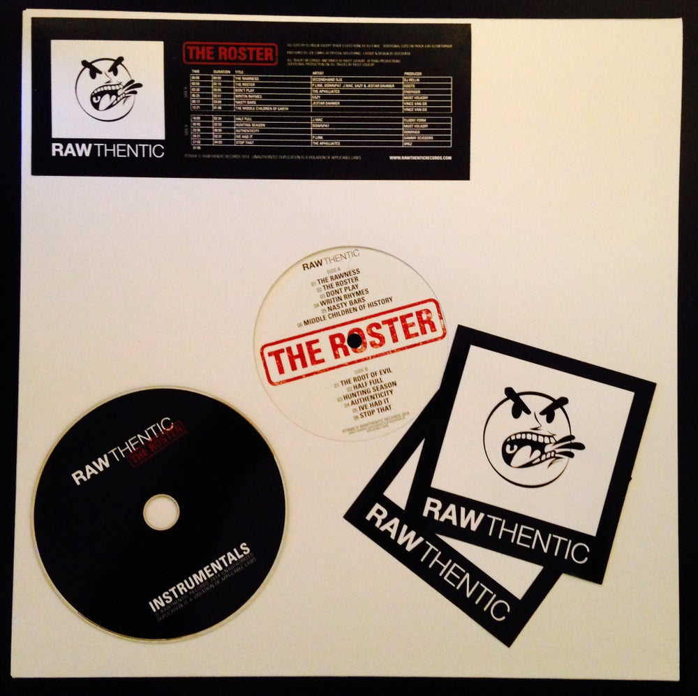 Image of 'The Roster' Vinyl