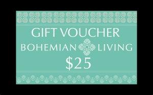Image of $25 Gift Voucher