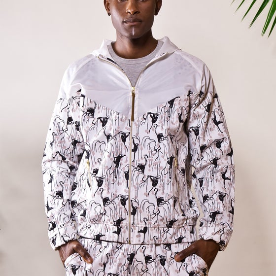 """Image of """"GHOSTS OF THE FOREST"""" WINDBREAKER (MADAGASCAR EDITION)"""