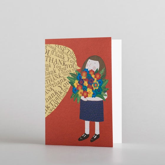 Image of Thank You Flowers Mini Card