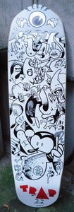 Image of CON-CREATE skateboard deck from Trap