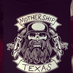 Image of Mothership shirt - Texas Biker