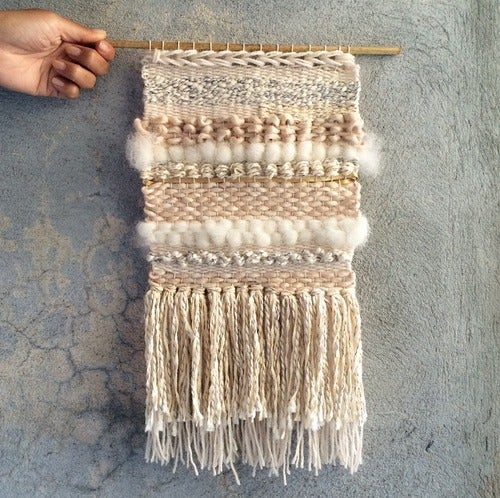 Image of HANDMADE WALL WEAVING 2