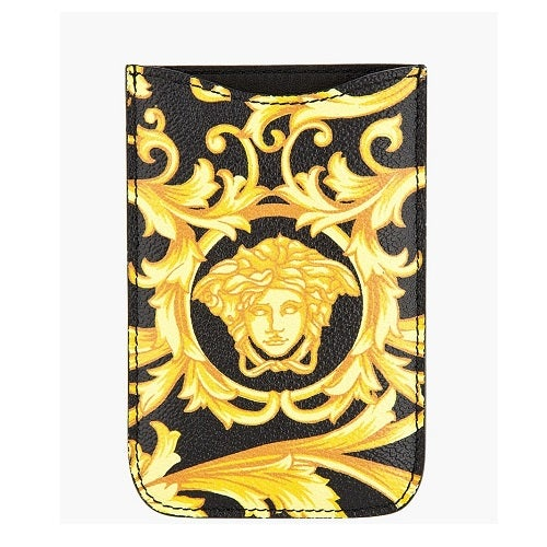 Image of SOLD OUT Versace Baroque Leather Iphone Case - 100% Authentic