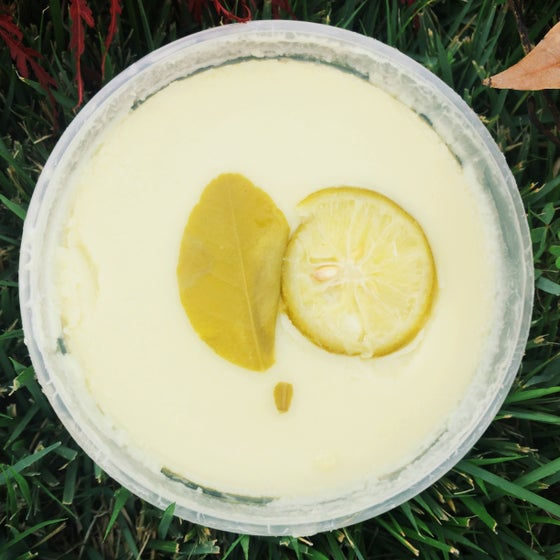 Image of WETATi HoneyDew Lemon Leaf RAW SHEA BUTTER