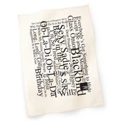 Image of White Album Concert Tea Towel