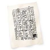 Image of White Album Concert Tea Towel