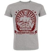 "Image of T shirt gris ""Wrestling, Beer & Rock n'roll"" + 3 EP"