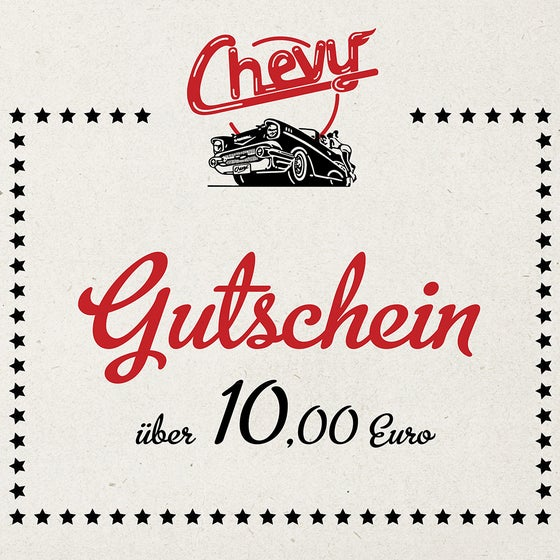 Image of Chevy Gutschein 10.00 EUR