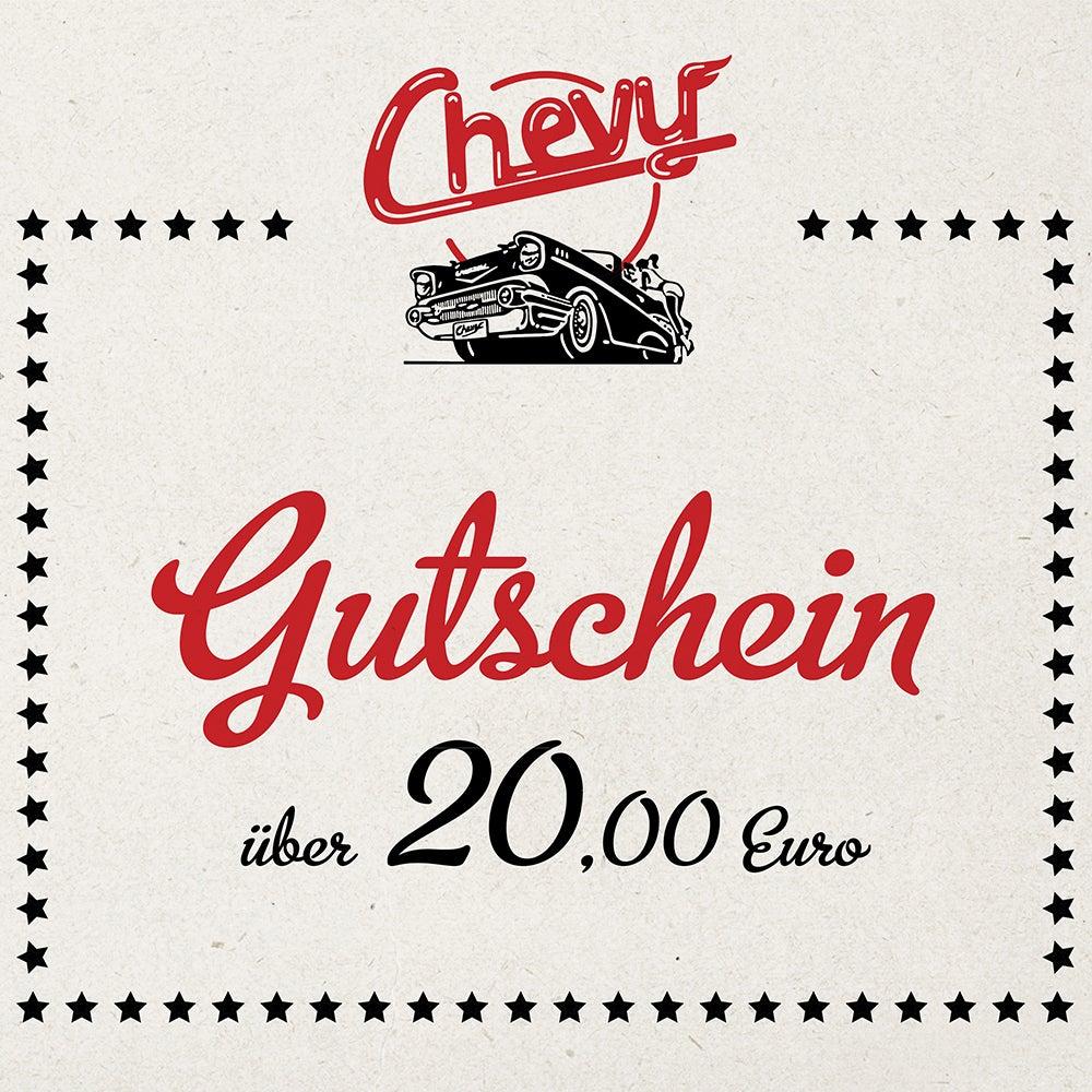 Image of Chevy Gutschein 20.00 EUR