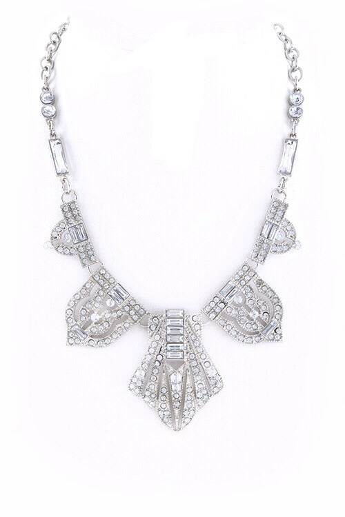 Image of GlamBam Deco Statement Necklace