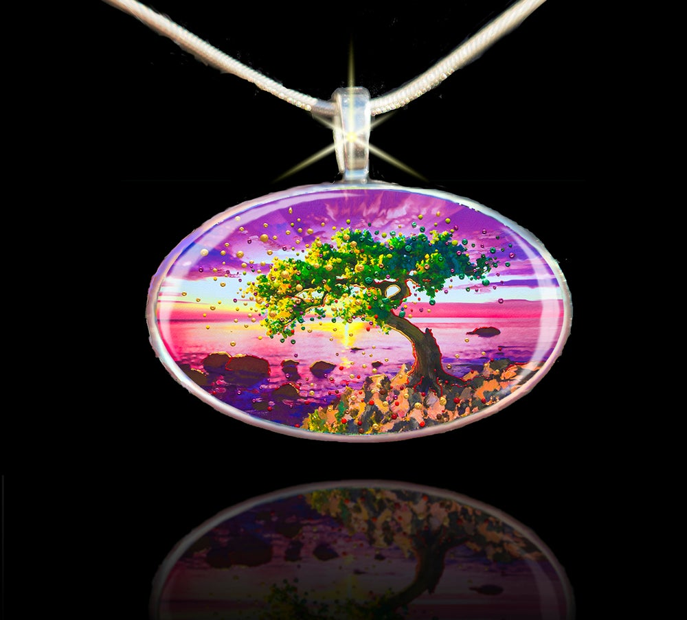 Image of The Forgiveness Tree Energy Pendant