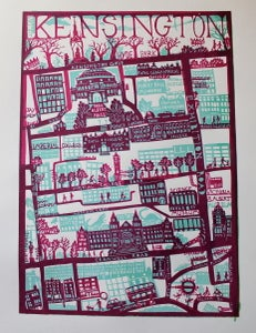 Image of South Kensington Screen Print