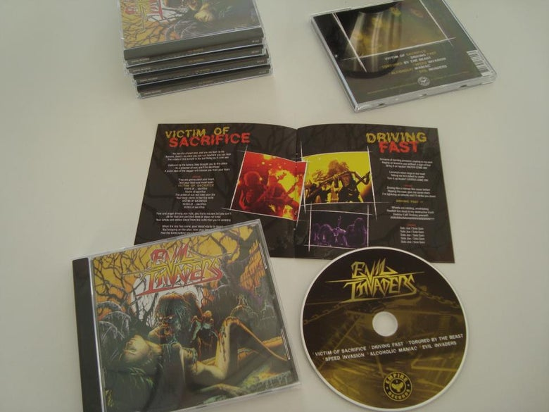 Image of Evil Invaders - EP CD