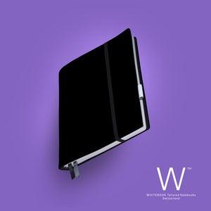 Image of Whitebook Soft S201, Veaux Prestige, black, 240p. (fits iPad / Air / Mini / Samsung)
