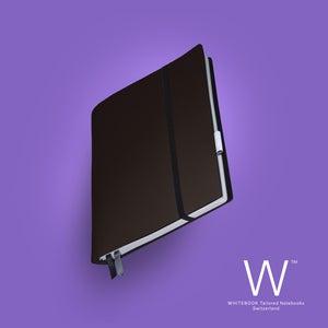 Image of Whitebook Soft S207, Veaux Prestige, Chocolate, 240p. (fits iPad / Air / Mini / Samsung)